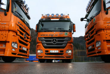 Sigr Bizjak tovorna vozila/spredaj