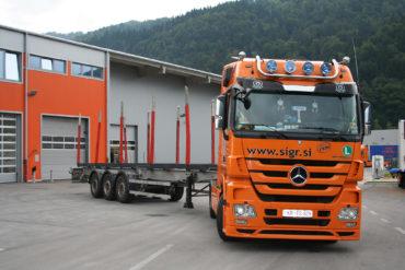Sigr Bizjak tovorno vozilo brez tovora