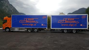 Sigr Bizjak tovorno vozilo/iz strani