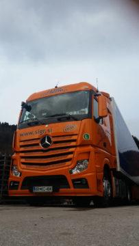 Sigr Bizjak tovorno vozilo/sprednji del