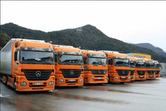 Množica tovornih vozil